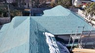 大正時代の建物の屋根葺き替え工事